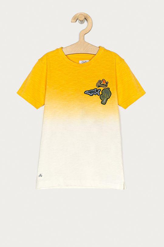 žlutá OVS - Dětské tričko 104-134 cm Chlapecký