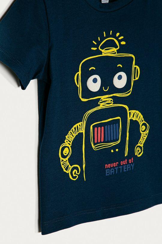 OVS - T-shirt dziecięcy 74-98 cm granatowy