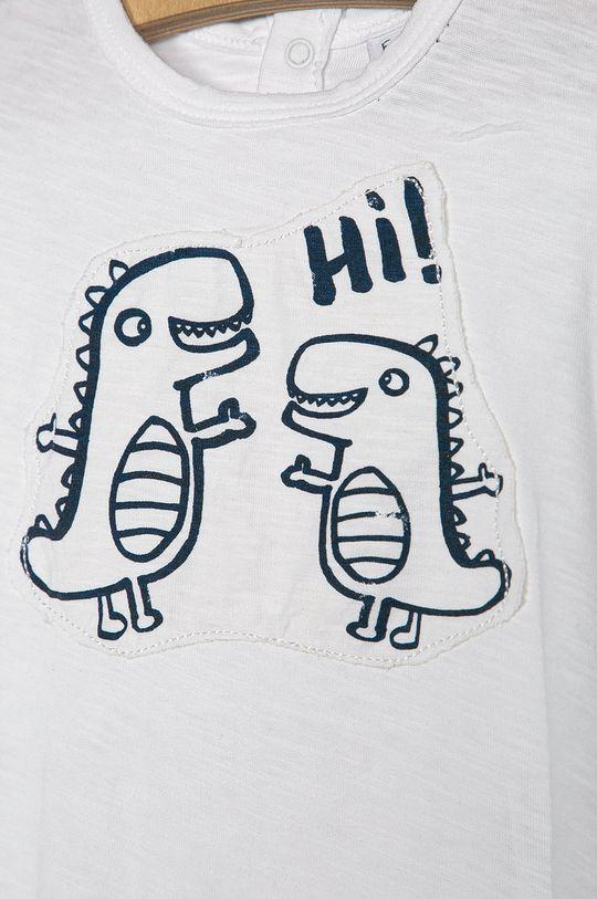 OVS - Detské tričko 74-98 cm biela