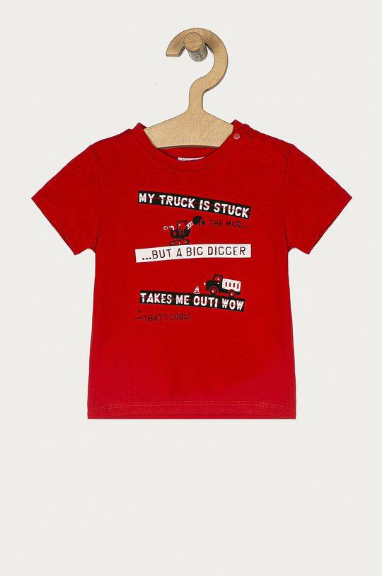 czerwony OVS - T-shirt dziecięcy 74-98 cm Chłopięcy