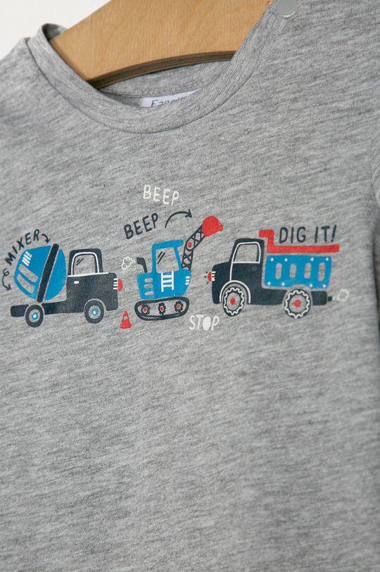 OVS - Detské tričko 74-98 cm sivá
