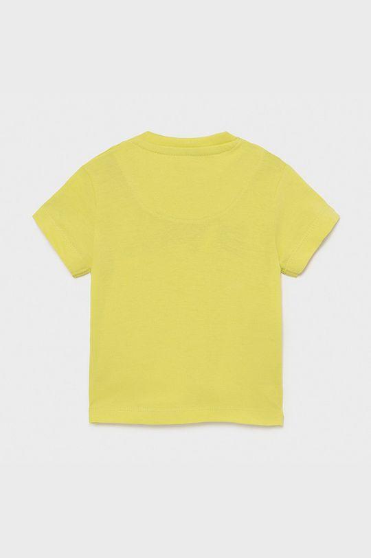 Mayoral - Dětské tričko hořčicová