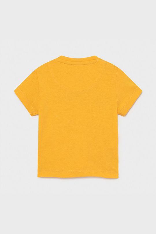 Mayoral - T-shirt dziecięcy brzoskwiniowy