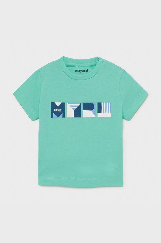 jasny turkusowy Mayoral - T-shirt dziecięcy Chłopięcy