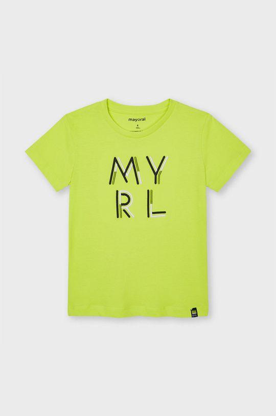 galben Mayoral - Tricou copii De băieți
