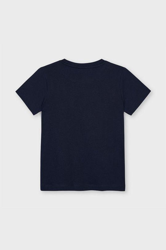Mayoral - T-shirt dziecięcy granatowy