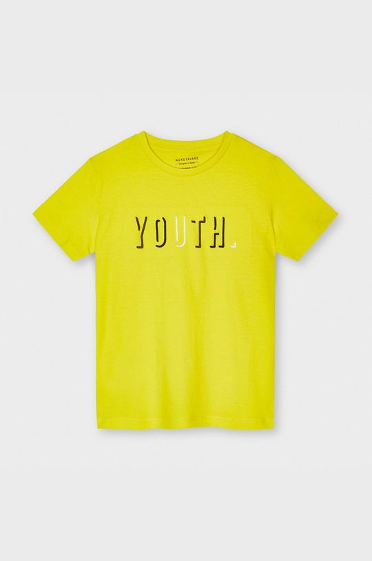 żółty Mayoral - T-shirt dziecięcy Chłopięcy