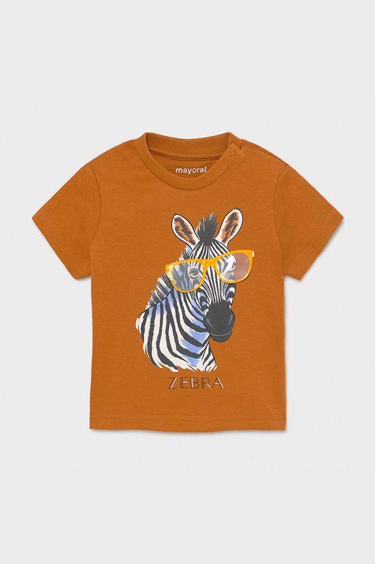 złoty brąz Mayoral - T-shirt dziecięcy Chłopięcy