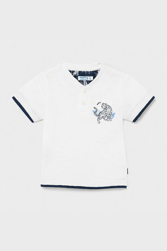 bílá Mayoral - Dětské tričko Chlapecký