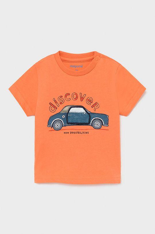 ostry różowy Mayoral - T-shirt dziecięcy Chłopięcy