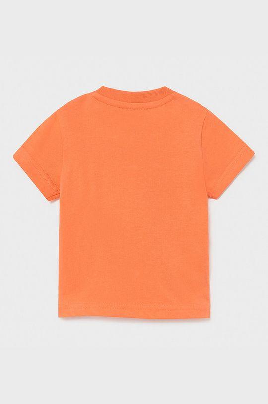 Mayoral - T-shirt dziecięcy ostry różowy