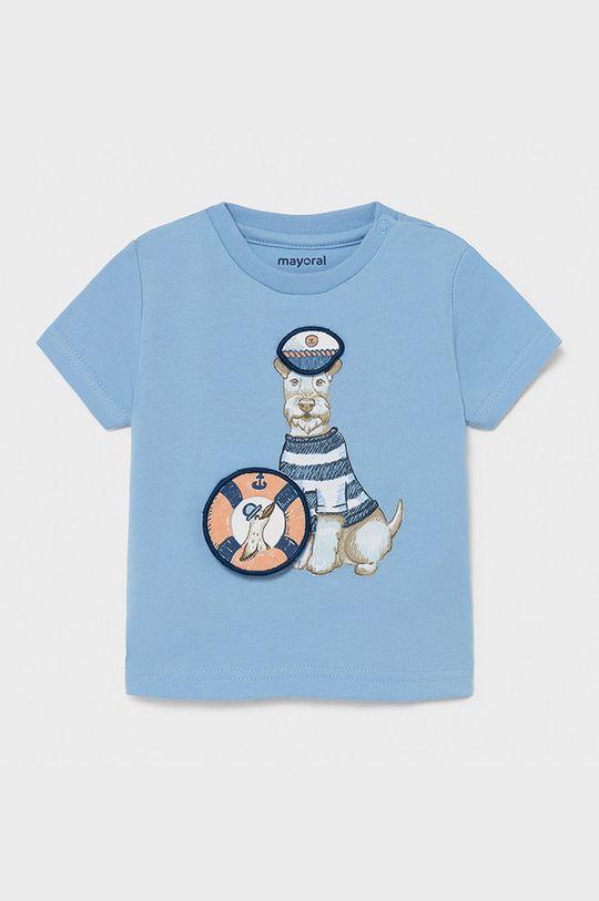 jasny niebieski Mayoral - T-shirt dziecięcy Chłopięcy