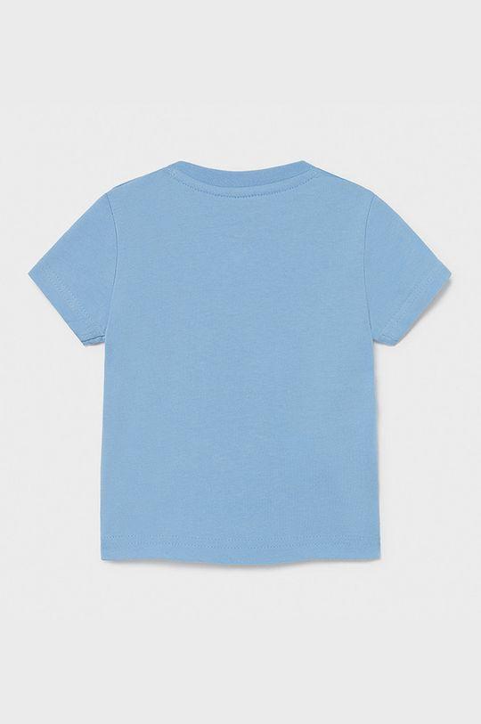 Mayoral - T-shirt dziecięcy jasny niebieski
