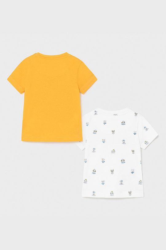 Mayoral - Tricou copii (2-pack) piersic