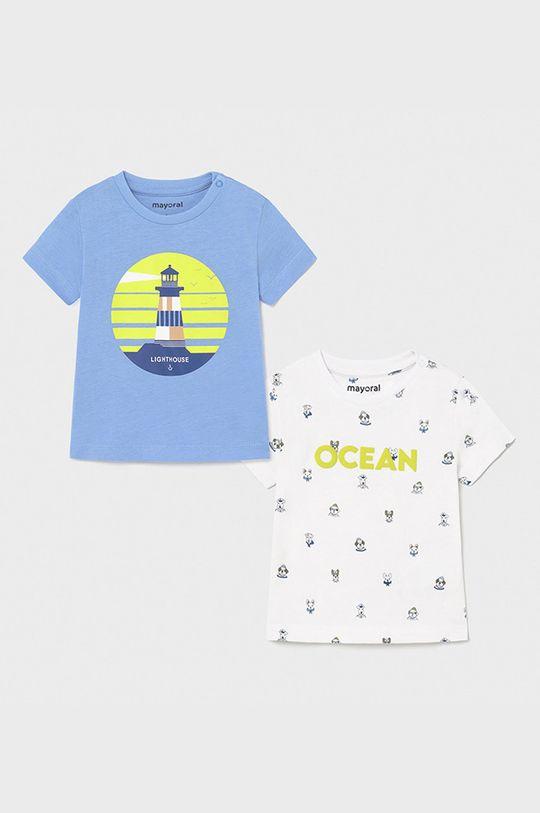 albastru deschis Mayoral - Tricou copii (2-pack) De băieți