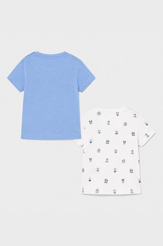 Mayoral - Tricou copii (2-pack) albastru deschis