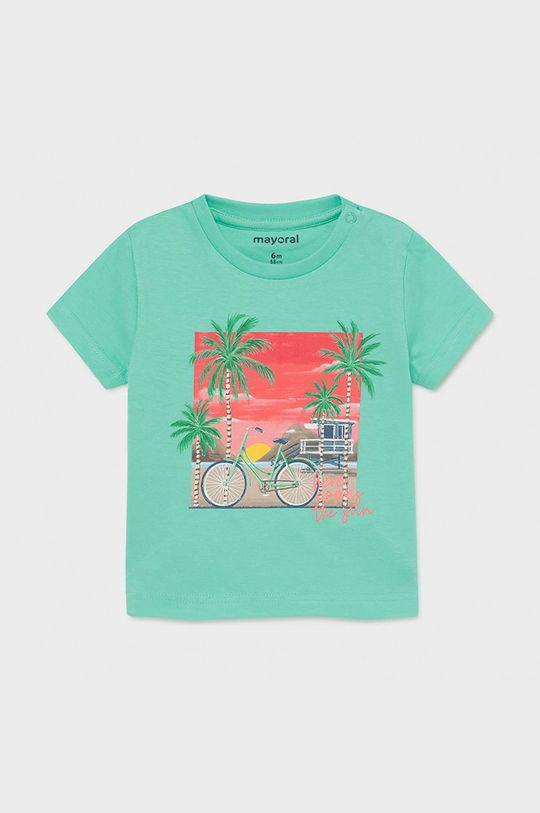 svetlá tyrkysová Mayoral - Detské tričko Chlapčenský