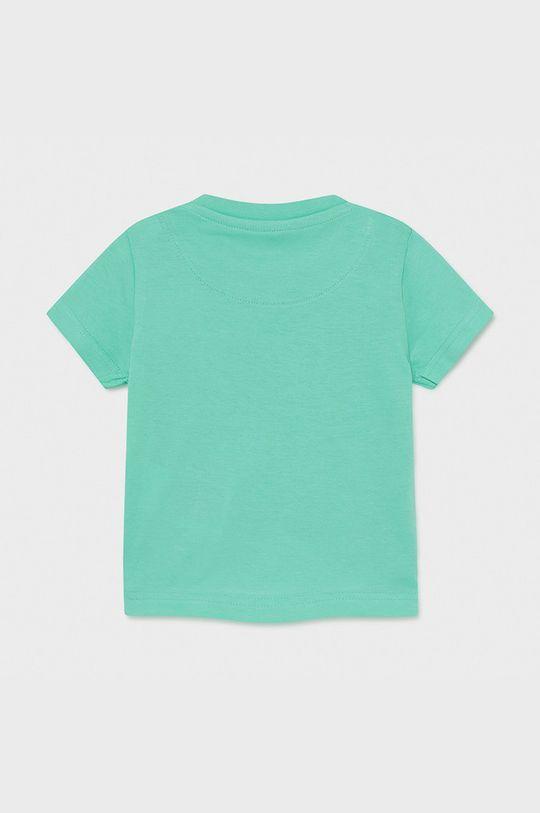 Mayoral - Detské tričko svetlá tyrkysová