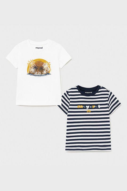 biały Mayoral - T-shirt dziecięcy (2-PACK) Chłopięcy
