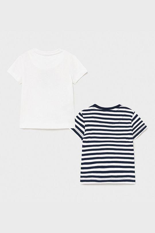 Mayoral - T-shirt dziecięcy (2-PACK) biały