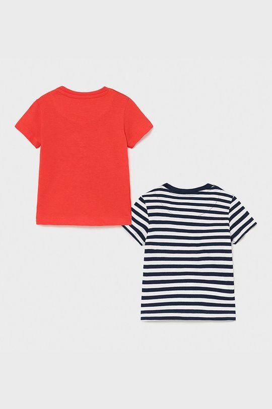 Mayoral - T-shirt dziecięcy (2-PACK) ostry czerwony