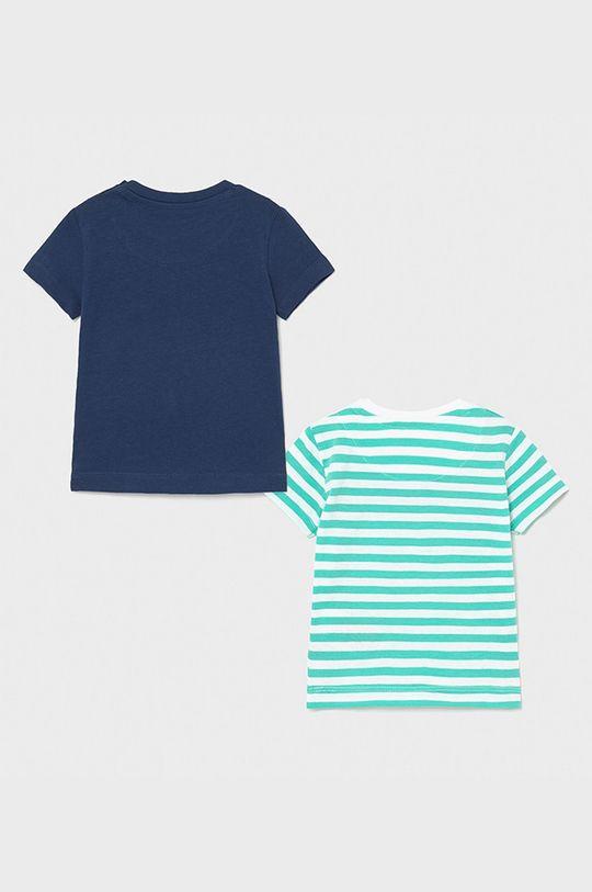 Mayoral - T-shirt dziecięcy (2-PACK) jasny turkusowy