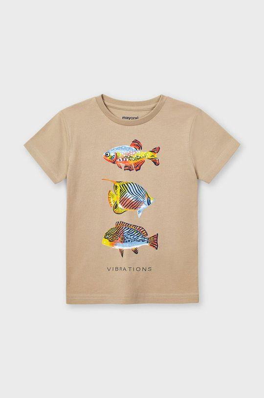 piesková Mayoral - Detské tričko Chlapčenský