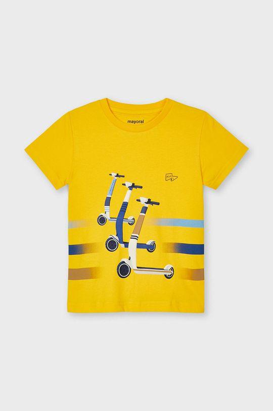 jasny pomarańczowy Mayoral - T-shirt dziecięcy Chłopięcy