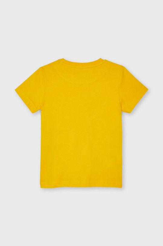 Mayoral - T-shirt dziecięcy jasny pomarańczowy