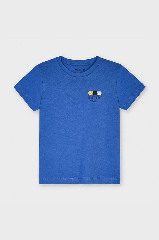 fialová Mayoral - Detské tričko Chlapčenský