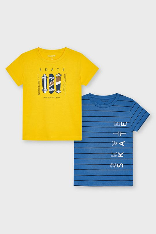jasny pomarańczowy Mayoral - T-shirt dziecięcy (2-PACK) Chłopięcy