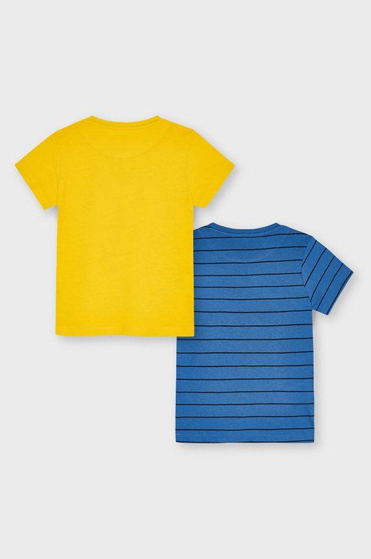 Mayoral - T-shirt dziecięcy (2-PACK) jasny pomarańczowy