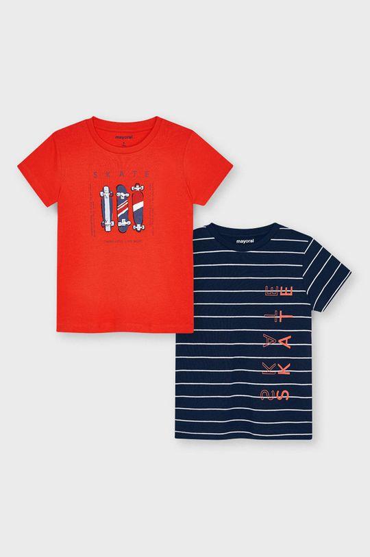sýtočervená Mayoral - Detské tričko (2-pak) Chlapčenský