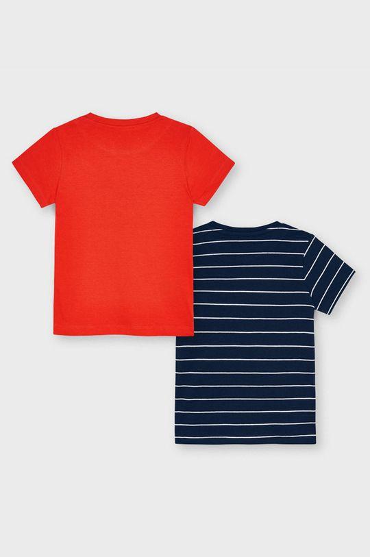 Mayoral - Detské tričko (2-pak) sýtočervená