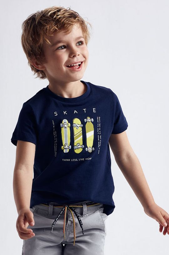 tmavomodrá Mayoral - Detské tričko (2-pak) Chlapčenský