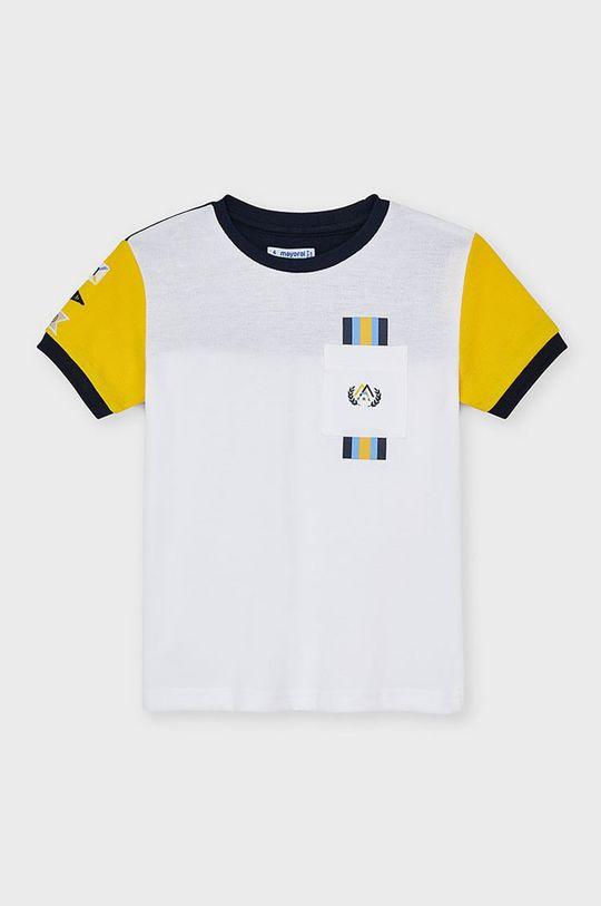 žltá Mayoral - Detské tričko Chlapčenský