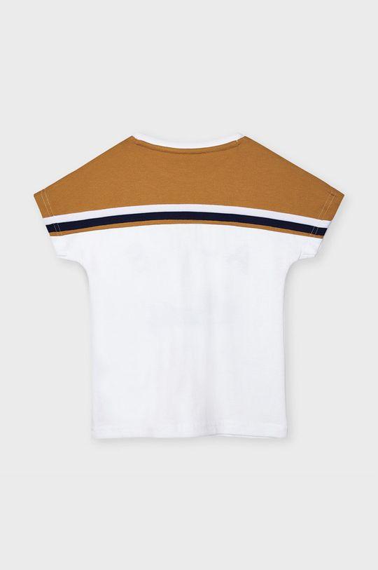 Mayoral - Tricou copii maro auriu