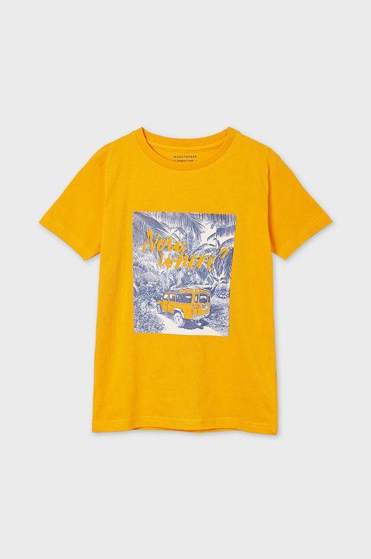 oranžová Mayoral - Detské tričko Chlapčenský