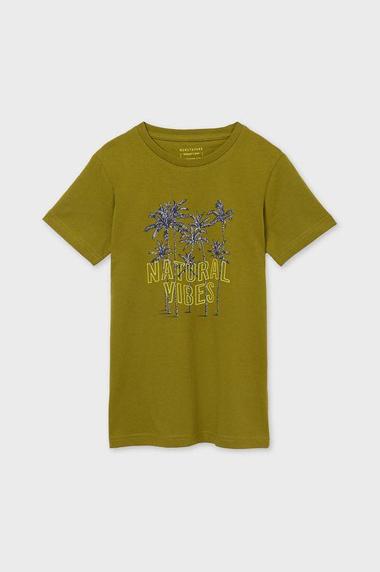 svetlá olivová Mayoral - Detské tričko Chlapčenský