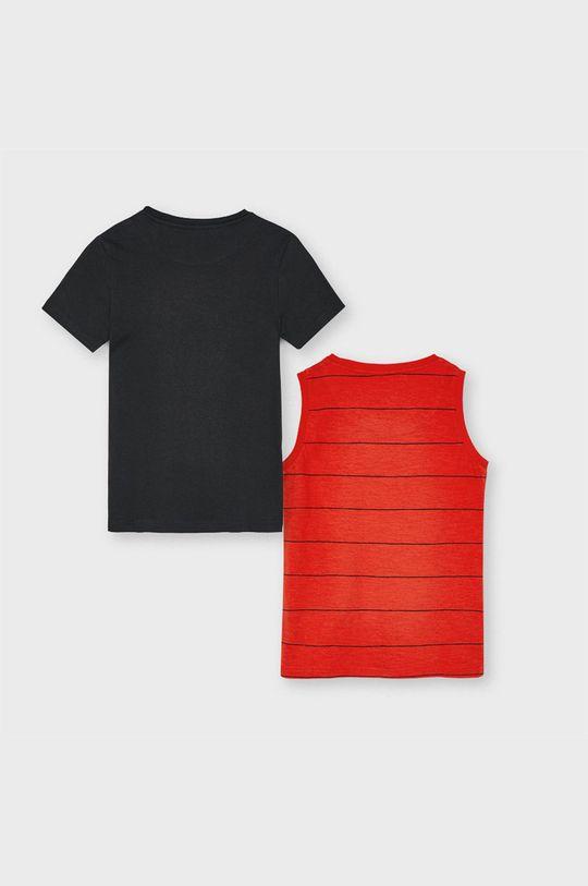 Mayoral - Detské tričko 128-172 cm (2-pak) červená
