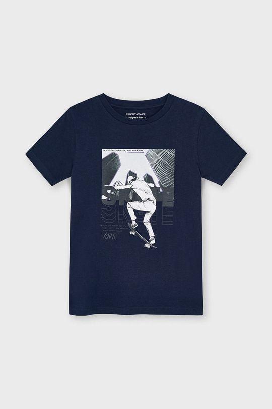 námořnická modř Mayoral - Dětské tričko Chlapecký