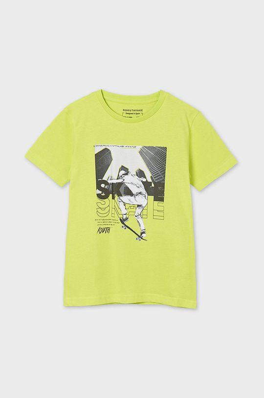 galben – verde Mayoral - Tricou copii De băieți