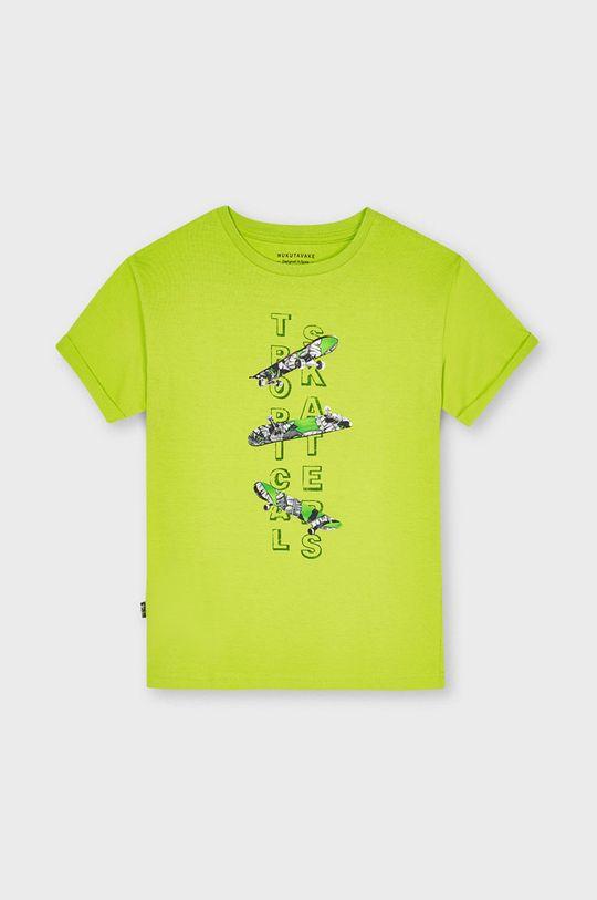 žlutě zelená Mayoral - Dětské tričko Chlapecký