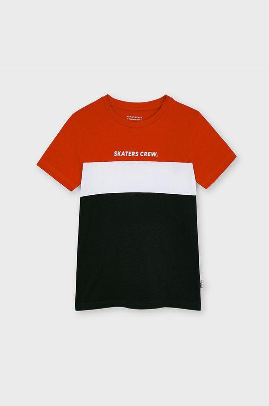 červená Mayoral - Detské tričko Chlapčenský