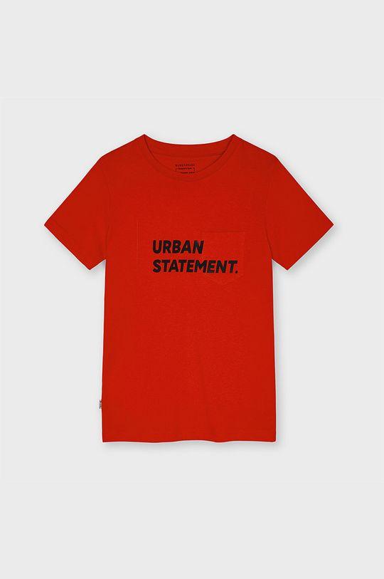czerwony Mayoral - T-shirt dziecięcy Chłopięcy