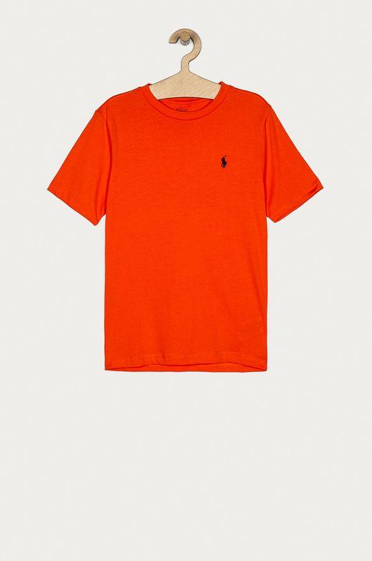 pomarańczowy Polo Ralph Lauren - T-shirt dziecięcy 134-176 cm Chłopięcy