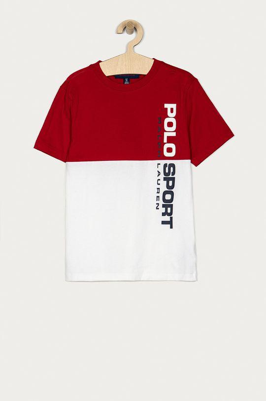 czerwony Polo Ralph Lauren - T-shirt Chłopięcy