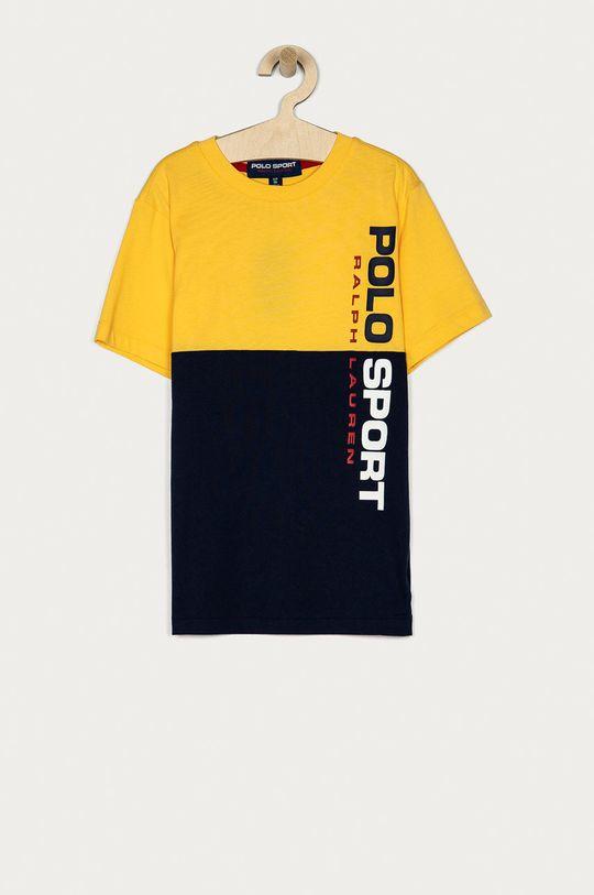 żółty Polo Ralph Lauren - T-shirt dziecięcy 134-176 cm Chłopięcy