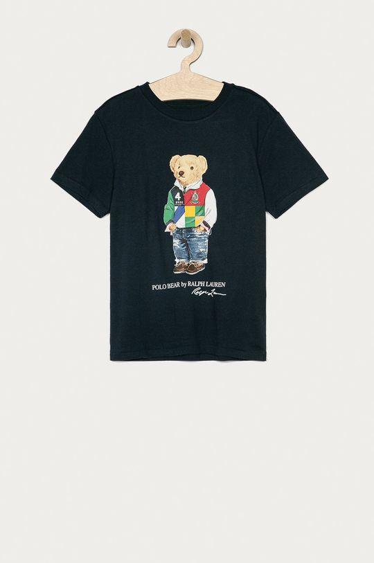granatowy Polo Ralph Lauren - T-shirt dziecięcy 134-176 cm Chłopięcy
