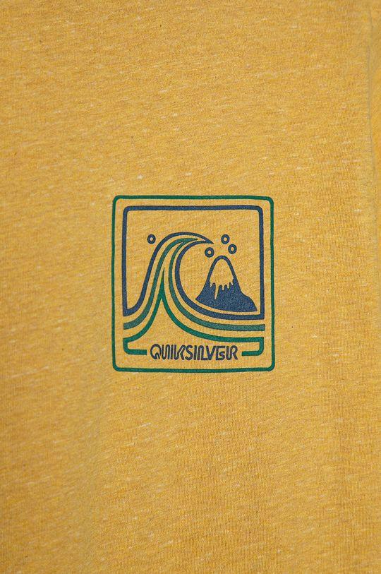 Quiksilver - T-shirt dziecięcy 128-172 cm jasny żółty